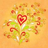 Bukiet miłość Zdjęcia Stock
