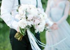 Bukiet od wiosna kwiatów _ Obraz Stock
