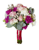 Bukiet peoni róże Obrazy Royalty Free