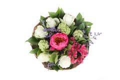 bukiet peonie, róże i alstroemeria, Zdjęcia Royalty Free