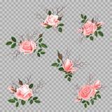 Bukiet róże Zdjęcia Royalty Free