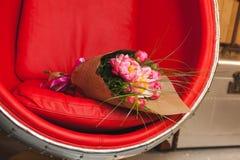 Bukiet różowe peonie Obraz Stock