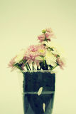 Bukiet różowi kwiaty Zdjęcia Royalty Free