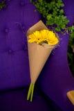 Bukiet różowy gerbera Zdjęcie Stock