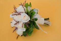 bukiet róż poślubiać Zdjęcie Stock