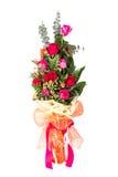Bukiet red&pink róże fotografia stock