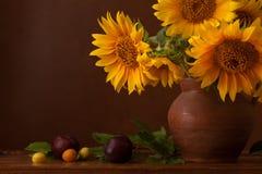 Bukiet słoneczniki fotografia stock