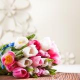 Bukiet tulipany obrazy royalty free