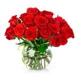 bukieta czerwieni róże Zdjęcia Royalty Free