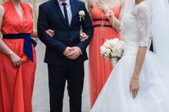 bukieta duży ślub Zdjęcia Royalty Free