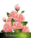 bukieta dzień róż s valentine Zdjęcia Stock