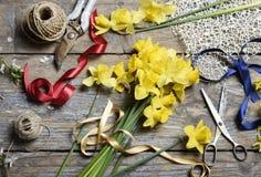 bukieta jaskrawy kwiatu obrazka wektor Fotografia Stock