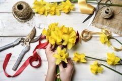 bukieta jaskrawy kwiatu obrazka wektor Obraz Royalty Free
