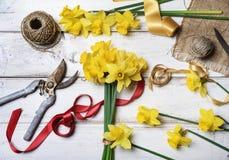 bukieta jaskrawy kwiatu obrazka wektor Obrazy Stock