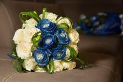 bukieta jaskrawy kwiatu obrazka wektor Obraz Stock