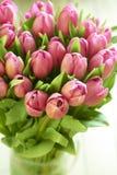 bukieta koloru ilustracja symuluje tulipanów wektoru wodę Obrazy Stock