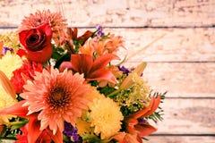 bukieta kwiecisty kwiatów ilustraci wektor Obrazy Stock
