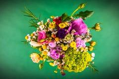 bukieta kwiecisty kwiatów ilustraci wektor Zdjęcie Royalty Free