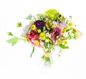 bukieta kwiecisty kwiatów ilustraci wektor Obraz Stock