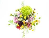 bukieta kwiecisty kwiatów ilustraci wektor Fotografia Stock