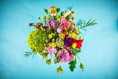 bukieta kwiecisty kwiatów ilustraci wektor Zdjęcia Royalty Free