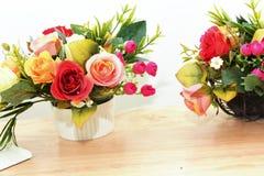 bukieta kwiecisty kwiatów ilustraci wektor Obrazy Royalty Free