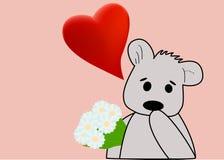 bukieta niedźwiadkowy miś pluszowy Obraz Stock