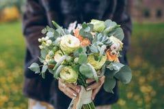 (1) bukieta panny młodej ślub Zdjęcie Stock