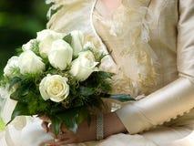 (1) bukieta panny młodej ślub Obraz Royalty Free