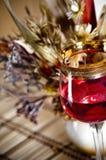 bukieta szklanego życia spokojny wino obrazy stock