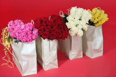 Bukiety róże Obrazy Royalty Free