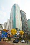 Bukit Bintang District in Kuala Lumpur, Malaysia royalty free stock image