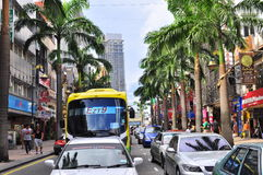 Bukit bintang , Kuala Lumpur, Malaysia Royalty Free Stock Photos