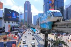 Bukit Bintang cityscape Kuala Lumpur Royalty Free Stock Photo