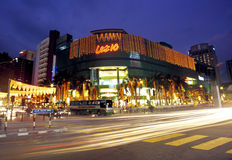 Bukit Bintang night scene, Kuala Lumpur, Malaysia Stock Photography