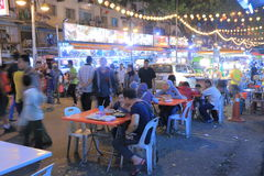Bukit Bintang plenerowy łomotać w Kuala Lumpur fotografia royalty free