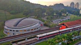 Bukit Gombak MRT station Stock Images