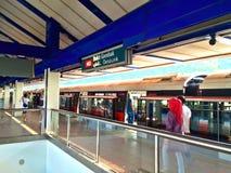 Bukit Gombak MRT train station Stock Photography