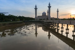 Bukit-jelutong Moschee, Malaysia Lizenzfreies Stockfoto