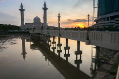 Bukit-jelutong Moschee, Malaysia Lizenzfreies Stockbild