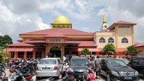 Bukit Kapar moské Arkivfoto
