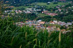 Bukit Perahu scena Fotografia Royalty Free