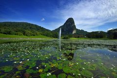 Bukit Takun, Templer Park Royalty Free Stock Images