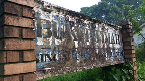 Bukit Timah Kolejowy ślad Fotografia Royalty Free