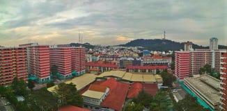 Bukit Timah public housing. HDB apartment blocks at Toh Yi Drive facing Bukit Timah hill, Singapore Stock Photos