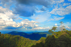 bukit tinggi της Μαλαισίας λόφων Στοκ Εικόνες