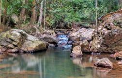 Bukit Wang消遣雨林一处美好的风景  库存图片