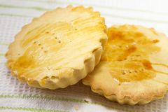 Buko pan - sweet pastry bread Stock Image