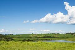 Bukolika krajobraz obrazy royalty free