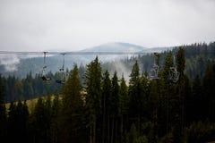 Bukovel carpathians Φθινόπωρο Στοκ εικόνα με δικαίωμα ελεύθερης χρήσης